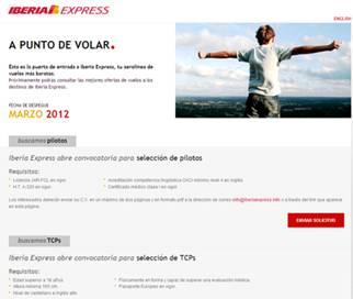 Iberia express recibe solicitudes para cubrir 500 for Oficinas iberia express