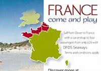 Campaña Francia con playa de Sudáfrica