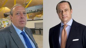 Justo Peral (Sepla) y Antonio Vázquez (Iberia)