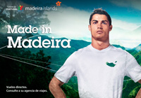Cristiano Ronaldo, imagen de Madeira