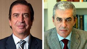 Rafael Sánchez-Lozano y Mariano Pérez Claver