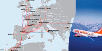 Vuelos de EasyJet desde Madrid