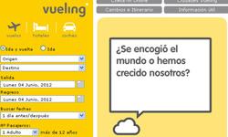 Página web de Vueling