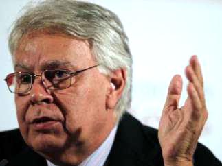 Felipe González, ex presidente del Gobierno.