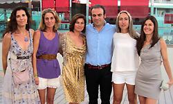 Gabriel Escarrer Jr., esposa y hermanas