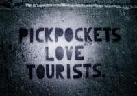 Los carteristas aman a los turistas