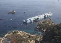 Costa Concordia, naufragado en la Isla de Giglio