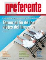 Portada de la revista Preferente de agosto de 2012.