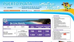 Oferta de Travelplan a Puerto Plata, verano 2012