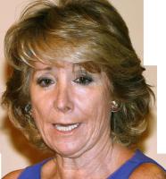 Esperanza Aguirre presidenta de la Comunidad de Madrid.