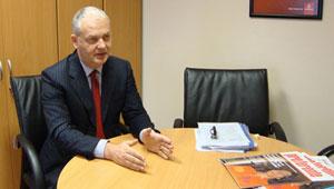 El vicepresidente de Marketing y Ventas de Emirates, Thierry Antinori.