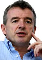 Michael O'Leary, jefe de Ryanair