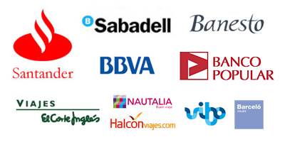 Bancos que sustentan agencias de viajes