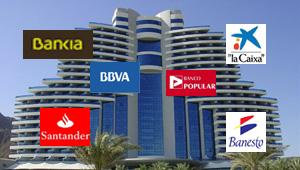 Bancos con deudas hoteleras