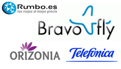 BravoFly, Rumbo, Orizonia y Telefónica