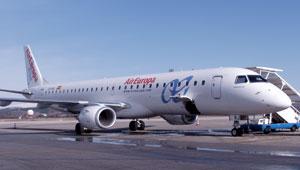 Air Europa desespera porque en los Embraer caben pocas maletas.