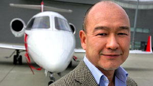 Clive Jackson, fundador de Flyvictor.com.