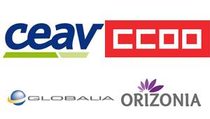 CEAV, CCOO, Globalia, Orizonia