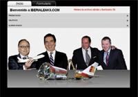 Página inicial de la web Iberialeaks