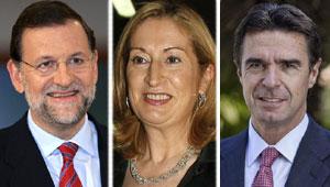 Rajoy, Pastor y Soria