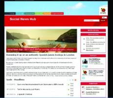 Social News Hub de Turespaña en UK
