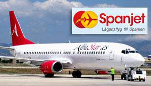 Spanjet y Albastar unirán Suecia y España desde junio.