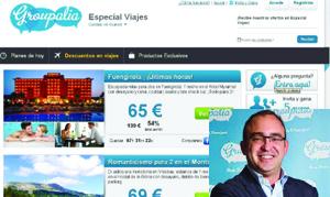 Groupalia viajes y Juan Santana, CEO