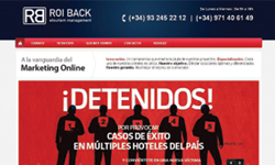 Sitio web de ROI Back