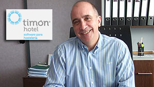 Martí Millán, gerente y fundador de Timón Hotel.