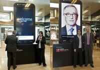 Xavier Trías estrena el Wellcome Mobile World Capital Barcelona