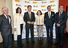 Manuel Butler, Isabel Borrego, José Manuel Soria y Gabriel Escarrer.