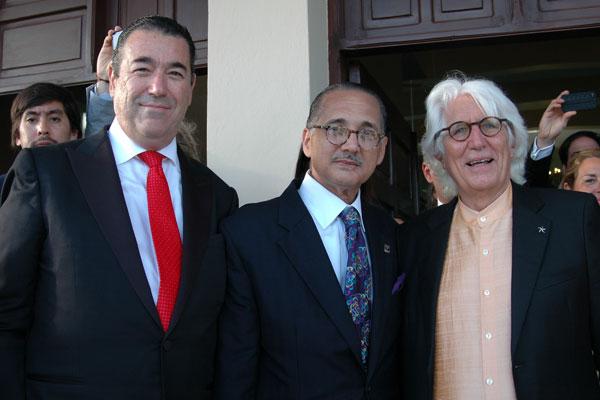 Martín de Oliva, Villanueva y Fluxá.