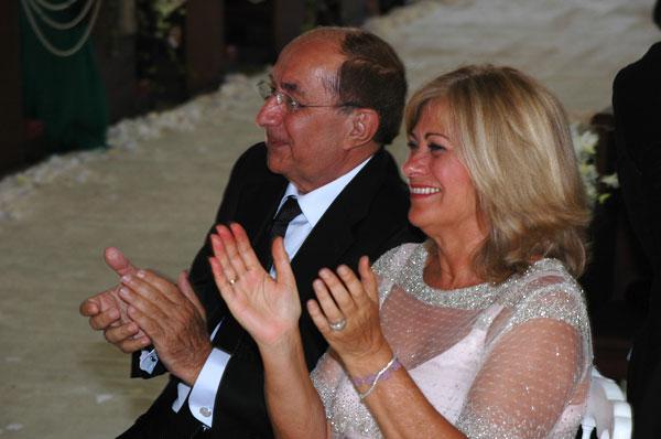 Pablo Piñero y su esposa.