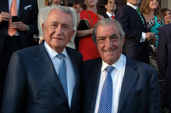 Pedro Luis Cobillea junto a Juan José Hidalgo.