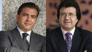 Emilio Rivas y Luis Mata, directivos de Globalia