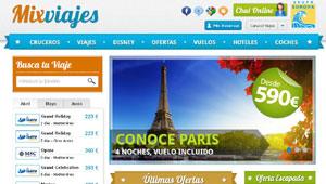 Mixviajes.com de Grupo Europa Viajes