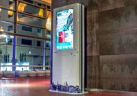 Imagen del iPhone gigante que ha instalado Barceló en su hotel de Málaga.