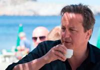 David Cameron, de vacaciones en Ibiza