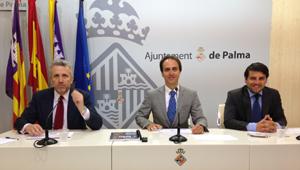 Pedro Homar, Álvaro Gijón y Javier Bonet
