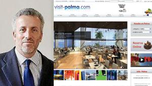 Pedro Homar y la web visitpalma.es