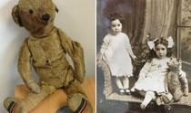 Se busca al dueño de un osito de peluche de 95 años extraviado en el aeropuerto de Bristol.