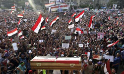 Revueltas en Egipto (FOTO: EFE)
