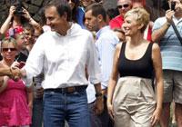 Zapatero escoge un bungalow en Famara (Lanzarote) para su descanso estival.