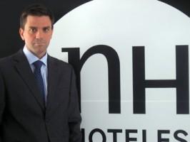 NH nombra a Javier Pardo director comercial para España, Portugal y Andorra.