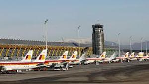 Iberia en el aeropuerto de Madrid Barajas