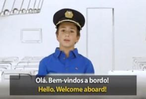 Los pasajeros son los protagonistas en el vídeo de seguridad de TAP.