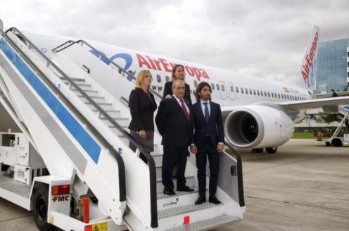 noticias de noticias de aerolineas ,  Sao Paulo Montevideo México Madrid Juan José Hidalgo Colombia Buenos Aires Bogotá Boeing 787 Dreamliner Air Europa , Air Europa ejercerá sus ocho opciones de compra del Dreamliner y sumará 16