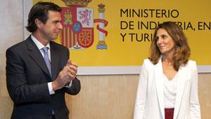 José Manuel Soria en la toma de posesión de Marta Blanco como directora general de Turespaña.