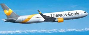 Los aviones de Thomas Cook ya lucen el nuevo logo.