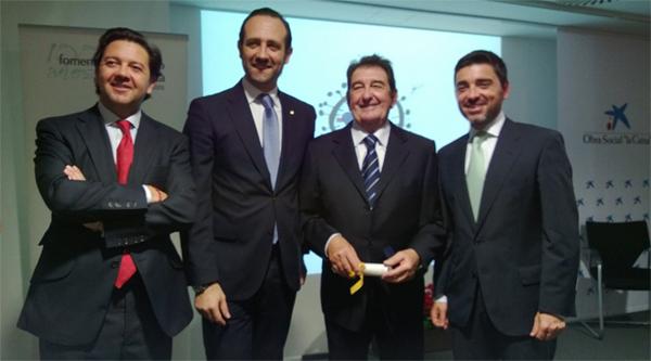 Juan Miguel Caldentey, Medalla de Oro de Fomento del Turismo
